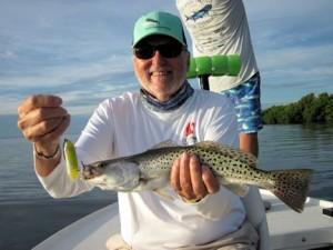 Dennis Ondercin's Charlotte Harbor DOA PT-7 trout